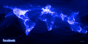 il mondo attraverso facebook