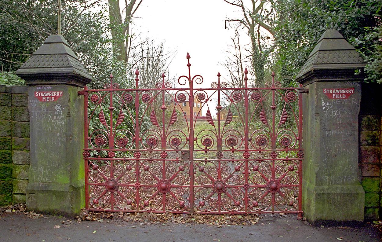 Cancello dell'orfanotrofio di Strawberry Hill