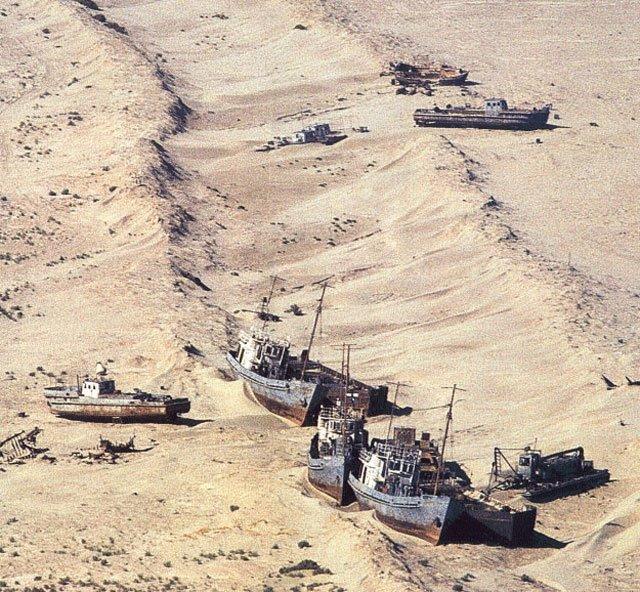 Ex lago di Aral