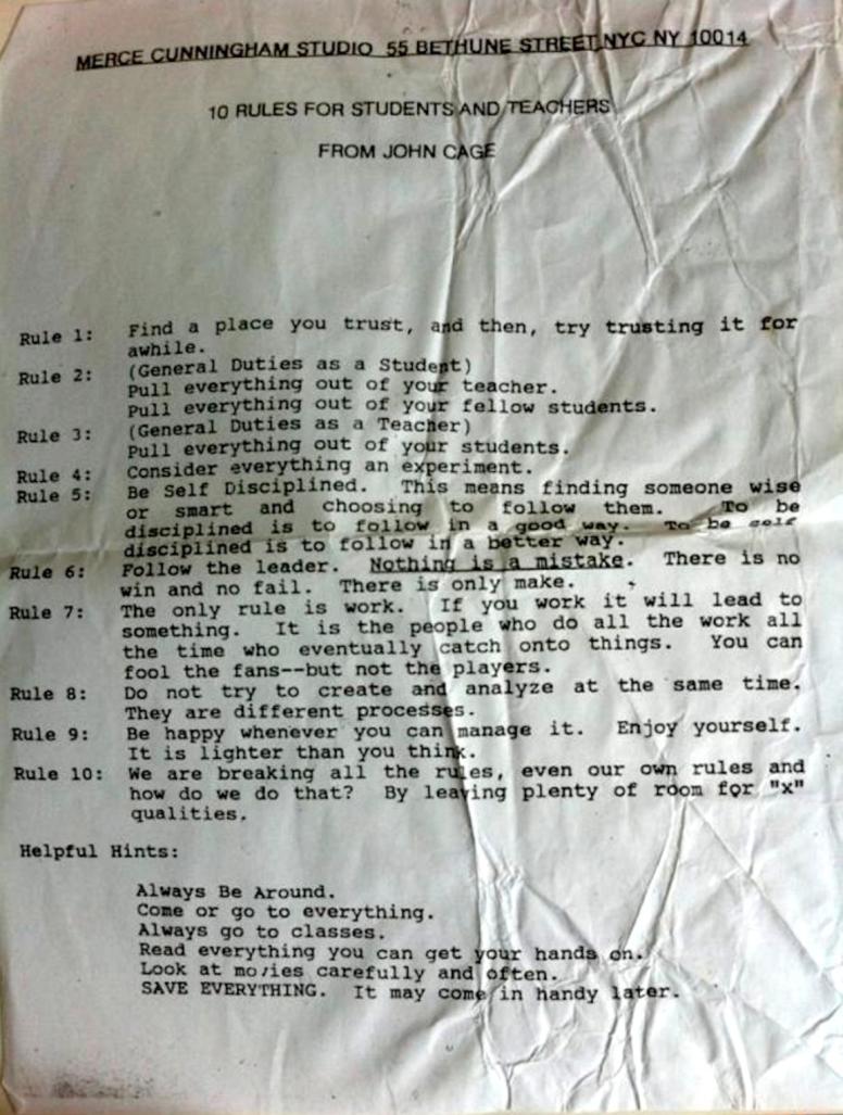 10 regole