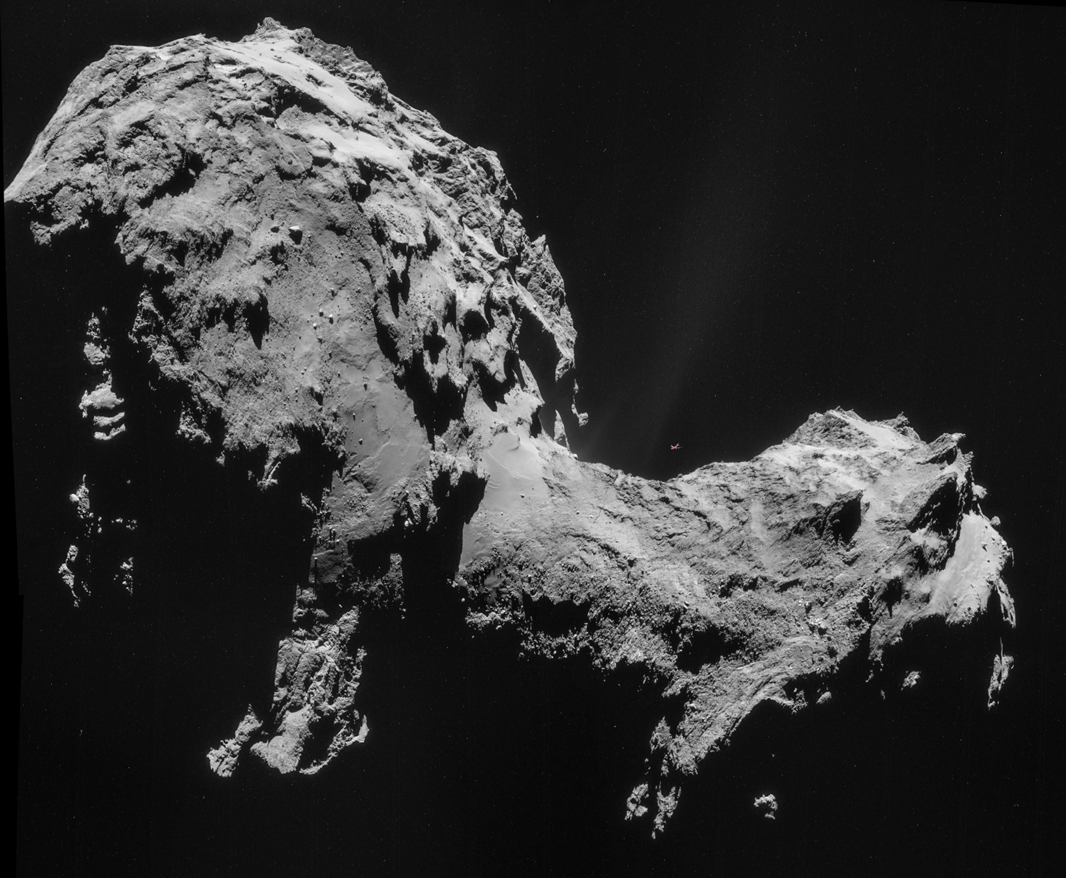 nucleo cometa