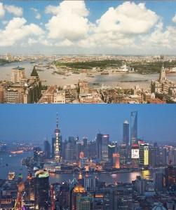 shanghai 1990 2010